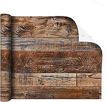 MXFFW Self-Adhesive Wallpaper for Brown Wood Bark