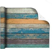 MXFFW Self-Adhesive Wallpaper, Rustic Wallpaper