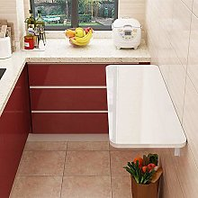 MXL Folding table Wall-mounted white kitchen