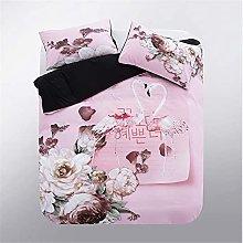 MXSS Flamingo Quilt Cover, Animal Theme Bedding