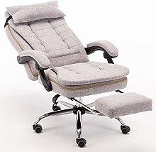 MXSXO Desk Chairs Executive Recline Home computer