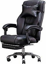 MXSXO Desk Chairs Executive Recline PU computer
