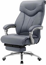 MXSXO Desk Chairs Executive Recline PU Leather