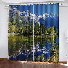 MXYHDZ Blackout Curtains for Bedroom - Natural