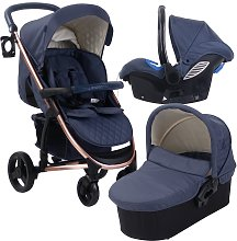 My Babiie Billie Faiers MB200 Travel System - Rose