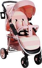 My Babiie Billie Faiers MB30 Pink Stripe Pushchair.