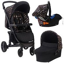 My Babiie MB200+ Black Rose Gold Travel System,