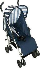 My Babiie Navy Stripes Stroller