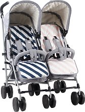 My Babiie Sam Faiers MB22 Stroller - Grey/Pink and