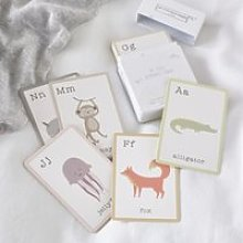 My First Alphabet Cards, White, One Size