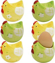 My-goodbuy24 Egg Cup Set Ceramic Chicken