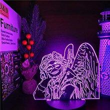 My Hero Academia Hawks 3D LED Anime LAMP