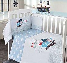 My Little World Nursery Blue Pirate Baby Boy Bale