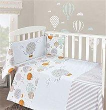My Little World Nursery Cream Teddy Balloons Baby