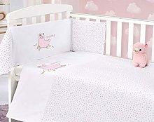My Little World Nursery Pink Llama Baby Bale