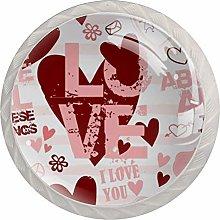 My Love to You Crystal Dresser knob Door Knob
