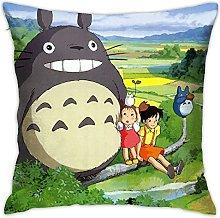 My Neighbor Totoro Square Pillowcase Soft Plush