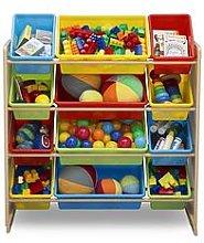 My Size 12 Bin Plastic Organiser Multicoloured