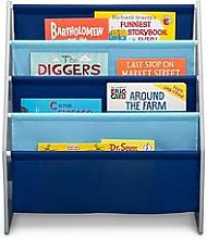 My Size Book Rack- Grey/Blue
