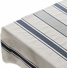 MYBOON Cotton Linen Square Tablecloth Country