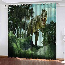 MYCAVE 3D Blackout Curtains Thermal Insulated