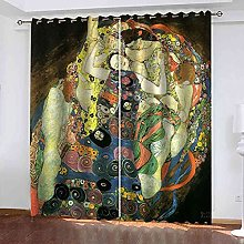 MYCAVE Blackout Curtain Thermal Insulated - 3D