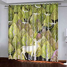 MYCAVE Blackout Curtains 2 Panels for Bedroom