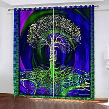 MYCAVE Blackout Curtains - Super Soft Curtains for