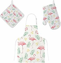 MyDaily Cooking Apron, Oven Glove and Potholder