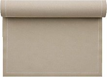 MYdrap Table Mat, Cotton, Bright Brown, 9 x 12 x