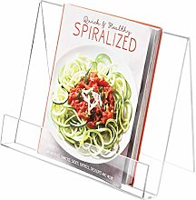 MyGift Premium Clear 4mm Acrylic Kitchen Cookbook