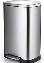 MYHJ 30L/50L Stainless Steel Dustbin with Pedal