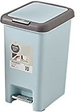 MYHJ Foot Pedal Trash Can Plastic Pressing Type