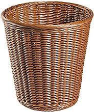 MYHJ Imitated Rattan Woven Trash Basket Kitchen