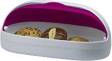 MyHome Helu Bread Bin, Red bonbon pink