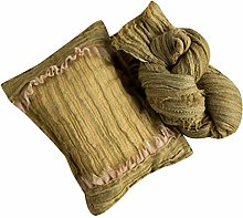 MYhose 2 Pieces Newborn Posing Pillow + Blanket