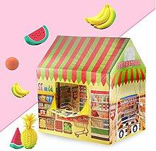 MYJZY Kids Play Tent,Boy Supermarket/Girl Candy