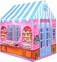 MYJZY Pink Candy House Kids Play Tent, Girl