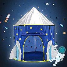 MYJZY Rocket Ship Play Tent,Kids Spaceship Toys