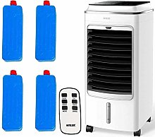 MYLEK Portable Air Cooler Evaporative Mobile 4L