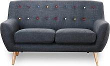 Myra 2 Seater Sofa Mercury Row Upholstery Colour: