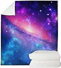 Mysterious Galaxy Deep Space Series Throw Blanket