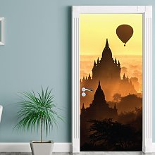 Mysterious Place Door Sticker East Urban Home