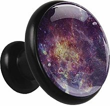 Mysterious Universe Cabinet knobs Black 4 knobs