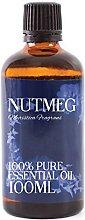 Mystic Moments | Nutmeg Essential Oil - 100ml -