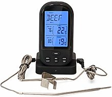 MYXMY Dual Probe Digital Meat Thermometer,Remote