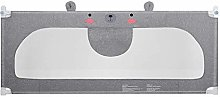 MYYINGBIN Grey Bed Rails For Toddlers Liftable