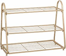 MYYINGELE Shoe Rack 3-layer Simple Shoe Rack Thick