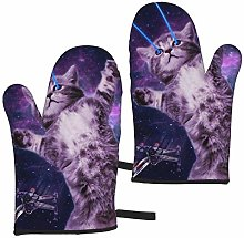 MZZhuBao Space Laser Cat Novelty Cute Funny Oven