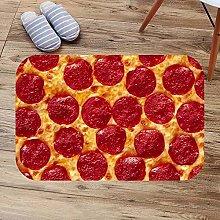 N/A 3d printed indoor door mat Cheese Pizza Bath